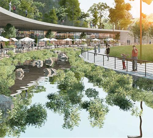 Presenta seduvi avance de la mexicana tendr un lago for Como construir un lago artificial