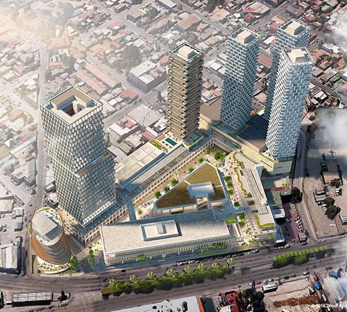 Centro Comercial Galerias Guadalajara: Edificios De Poca Altura