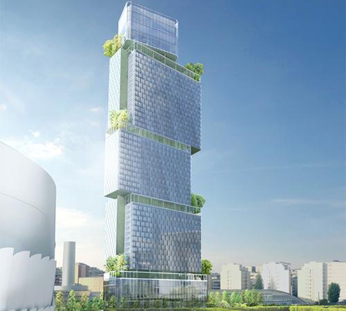 Ateliers 2 3 4 traza el dise o de rascacielos en par s for Hoteles de diseno en paris