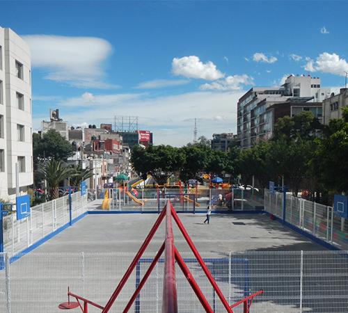 Remozan Mobiliario Y Calles Adyacentes A Glorieta Insurgentes