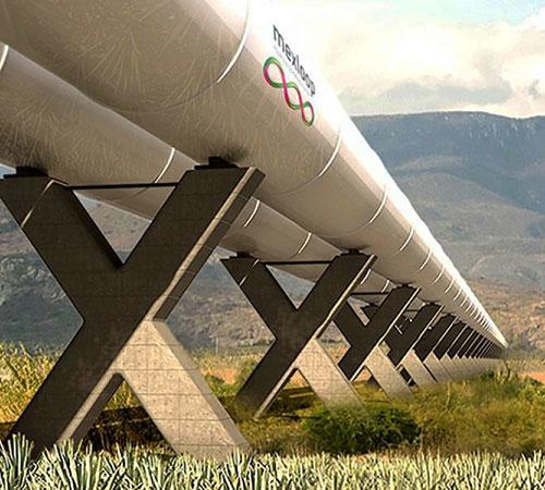 México, elegido entre los 10 proyectos más viables para tener un Hyperloop