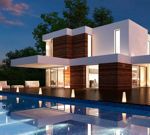Se modera presi n en costos de construcci n residencial for Casas con planos y fotos