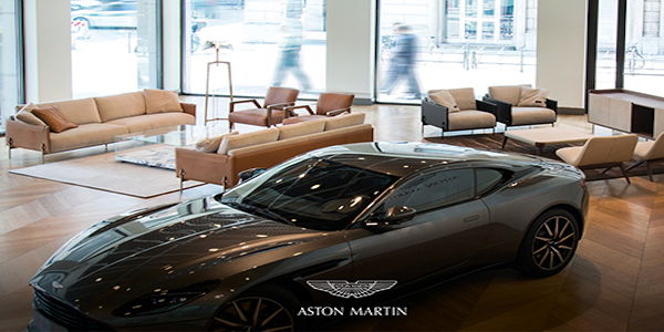 Aston Martin presentará New Home Collection en Salone del Mobile Milano 2020