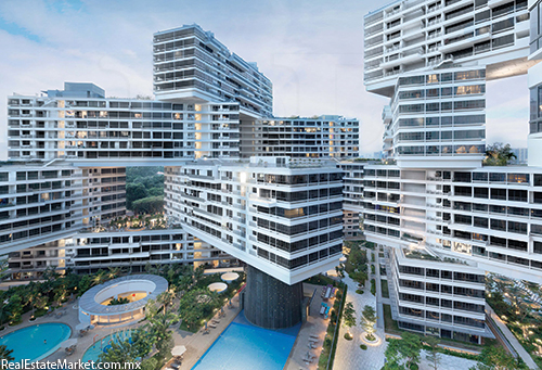 Metalocus Oma The Interlace, Singapur.