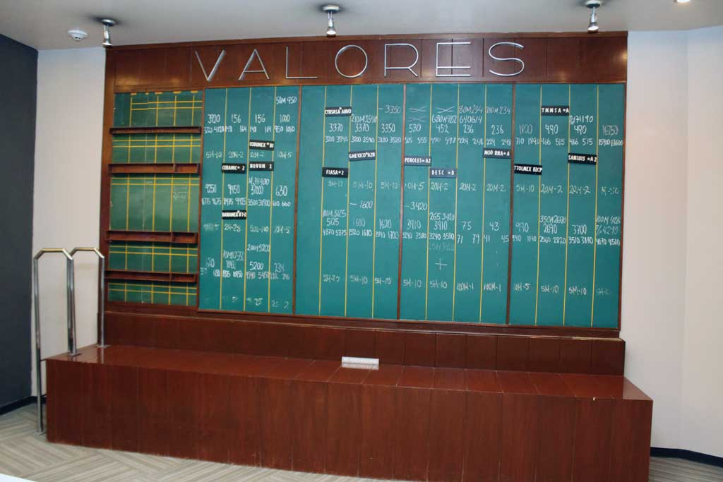 historia de la bolsa mexicana de valores: