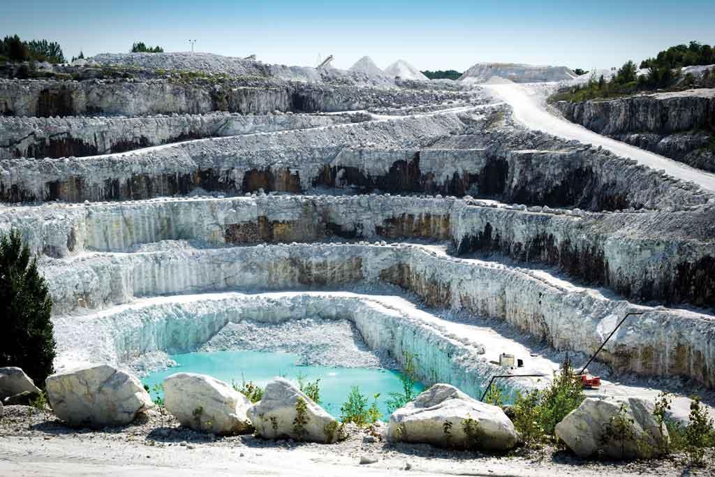 M rmoles arca for Piedra marmol blanca