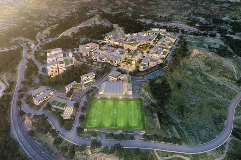 El objetivo es edificar una universidad con el nivel de calidad de los campus norteamericanos.