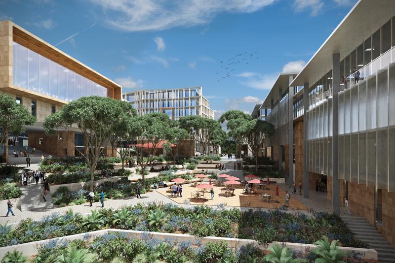 La UP contempla 13,000 m2 de áreas académicas.