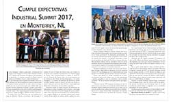 Cumple expectativas Industrial Summit 2017, en Monterrey, NL - Real Estate Market & Lifestyle