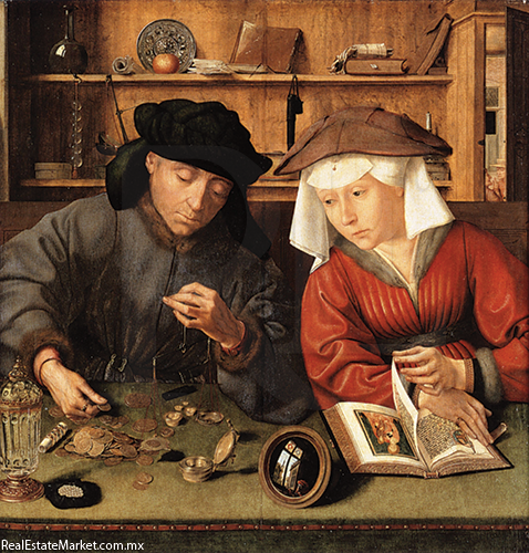 Resultado de imagen para bancos en la antiguedad